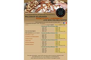 Notre programme de cuisson des pains en février 2021
