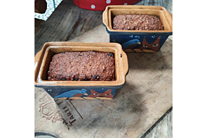 Glutenfrei im Brotbacktopf gebacken