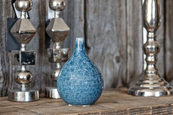 Vase FIONA, blau