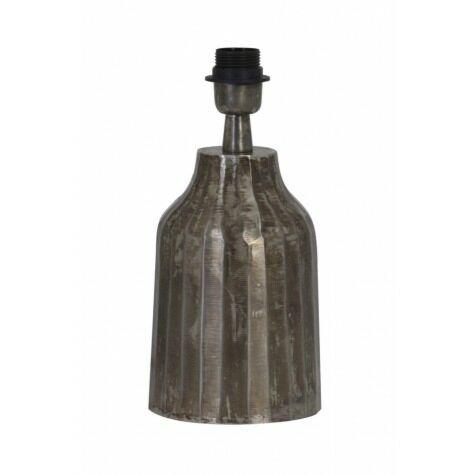 Lampenfuß TOMI perlschwarz,  Ø12x25 cm