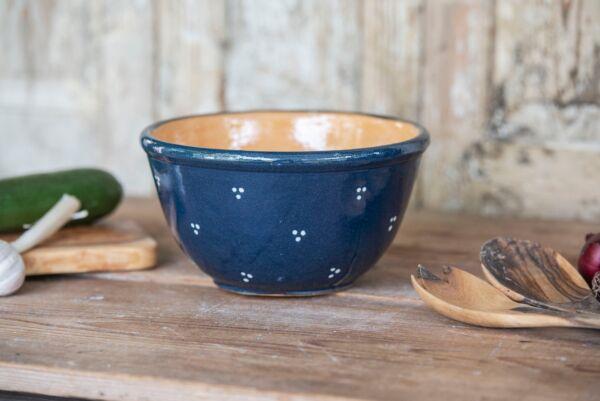 Keramikschüssel AGATHE, 20 cm, blau
