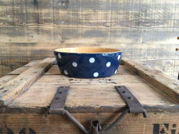 Traditionelle Elsässer Käsekuchenform aus Keramik für 6 Personen.