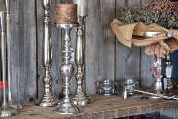 Kerzenständer ALBANY, silber