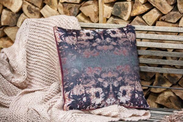 Kissen RORSCHACH, 50x50 cm, velvet lila