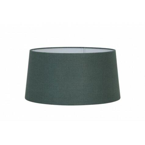 Lampenschirm LIVIGNO, rund, 40x35x20 cm, evergreen