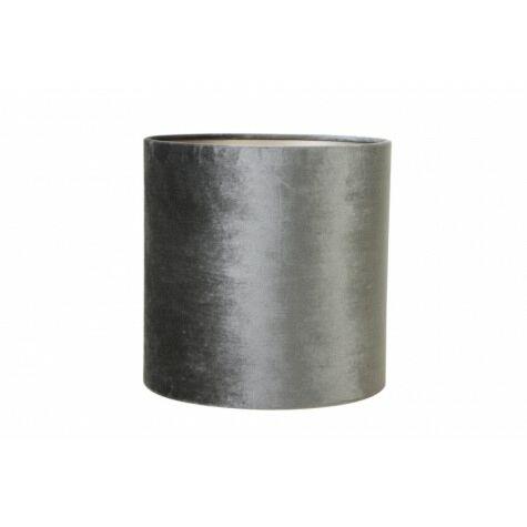 Lampenschirm ZINC, Zylinder, 25-25-25 cm, grau