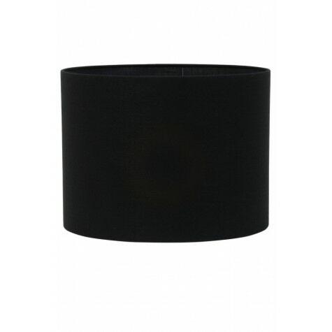 Lampenschirm LIVIGNO, Zylinder, 50-50-38 cm, schwarz