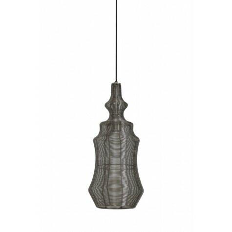 Haengeleuchte BODIL, Ø22x52 cm, Nickel
