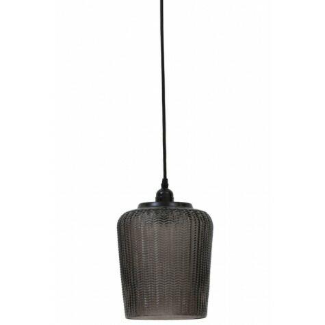 Haengeleuchte MARTINA, Ø20x31,5 cm, braun/grau