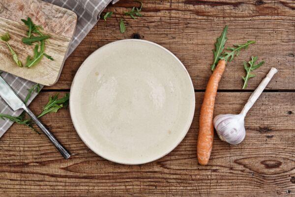 Assiette, ø 19 cm, blanc