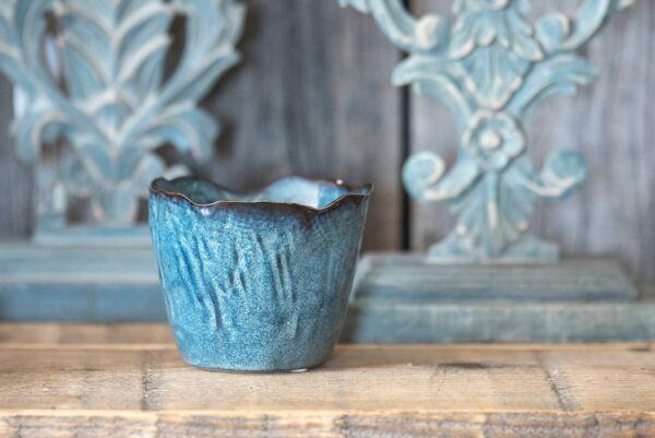Schale FLORA, ø 12 cm, blau