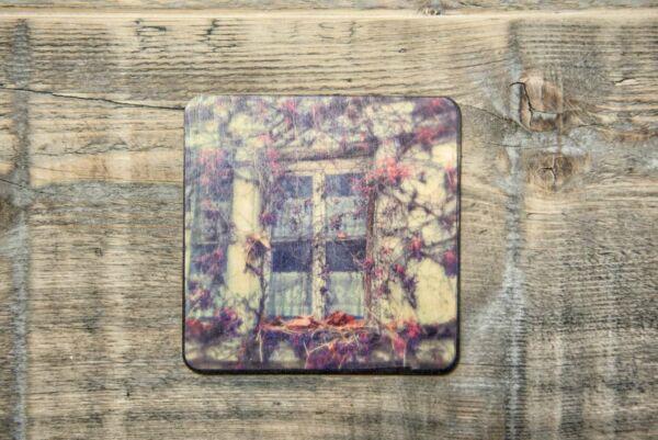 Holzpostkarte 'Altes Winzerhaus'