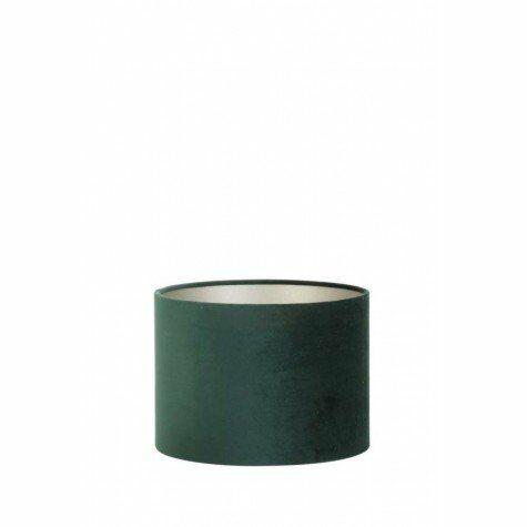 Lampenschirm VELOURS, Zylnder, 30x30x21 cm, dutch green
