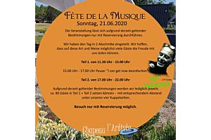 Fête de la Musique - Sonntag, 21.Juni 2020