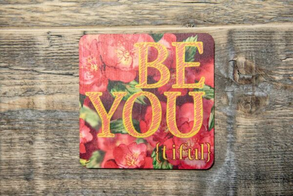 Holzpostkarte 'Be You'