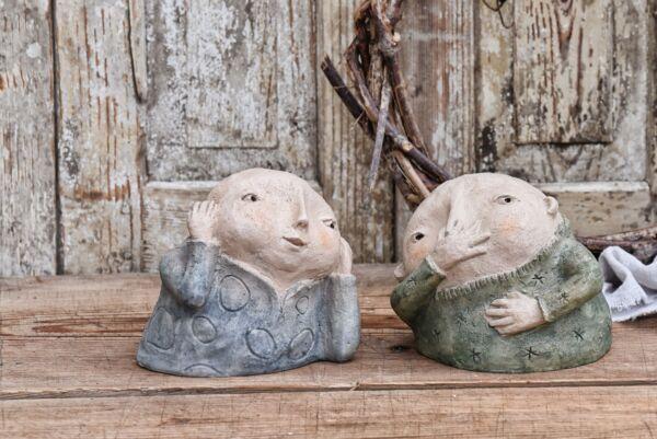 Elisabeth & Josef, Keramik
