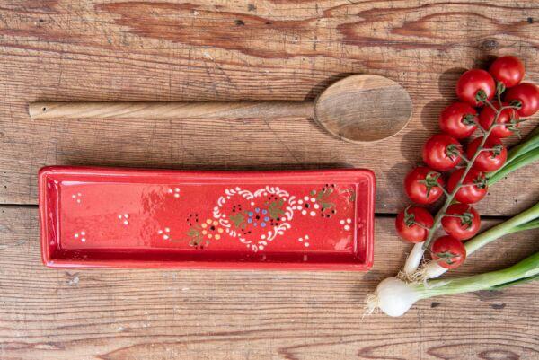 Lèche cuillère, rouge, 'Coeur Petites Fleurs'