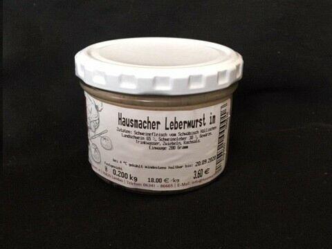 Weisbrods Pfälzer Leberwurst