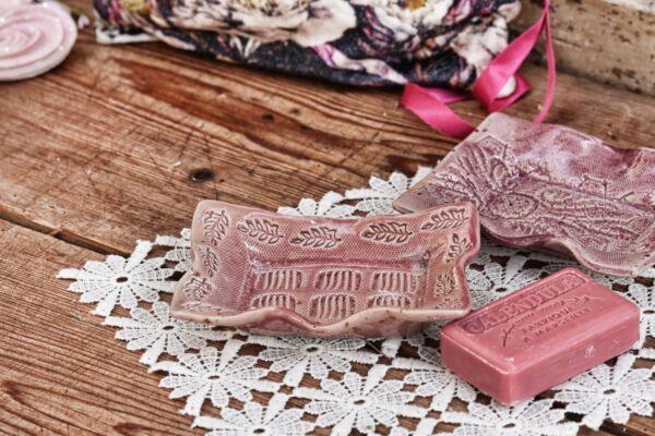 Seifenschale rosa