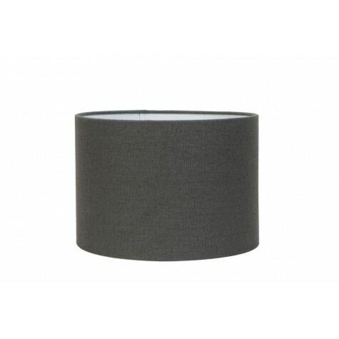 Lampenschirm LIVIGNO, Zylinder, 50-50-38 cm, dunkelgrau