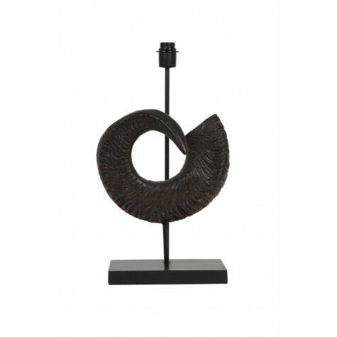 Lampenfuss MOUFLON, 33x25x65 cm, braun