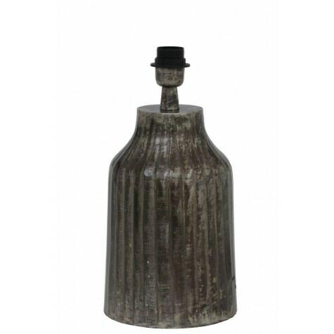 Lampenfuss TOMI, Ø19x39 cm, schwarz